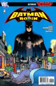 Batman And Robin #2 DC comic book